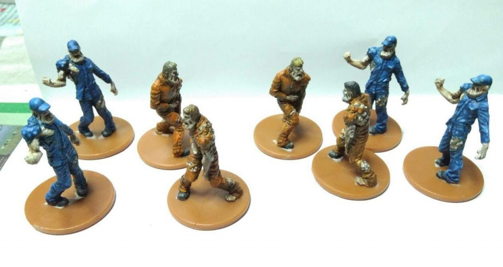 Berserkers and Prison Guards (from Zombicide Prison Break)