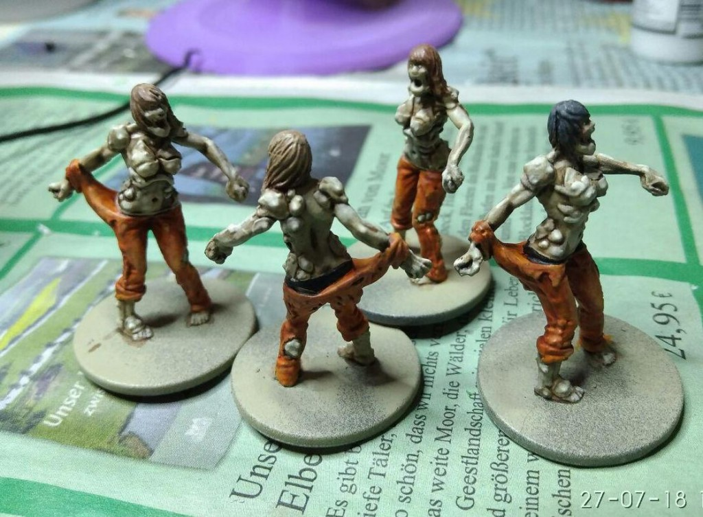 Berserker Zombies (from Zombicide Prison Break)